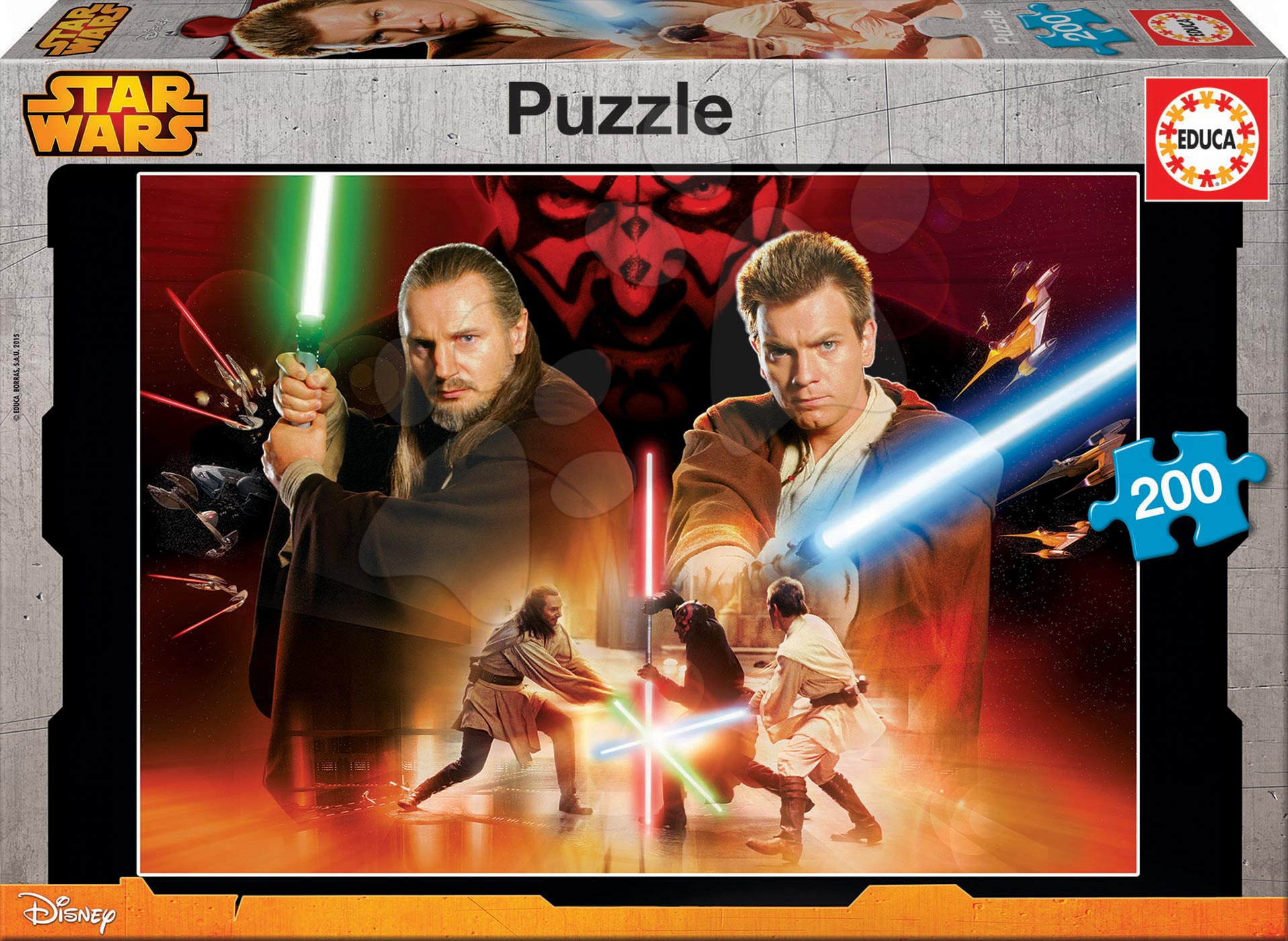 Puzzle Star Wars Educa 200 dílů od 6 let