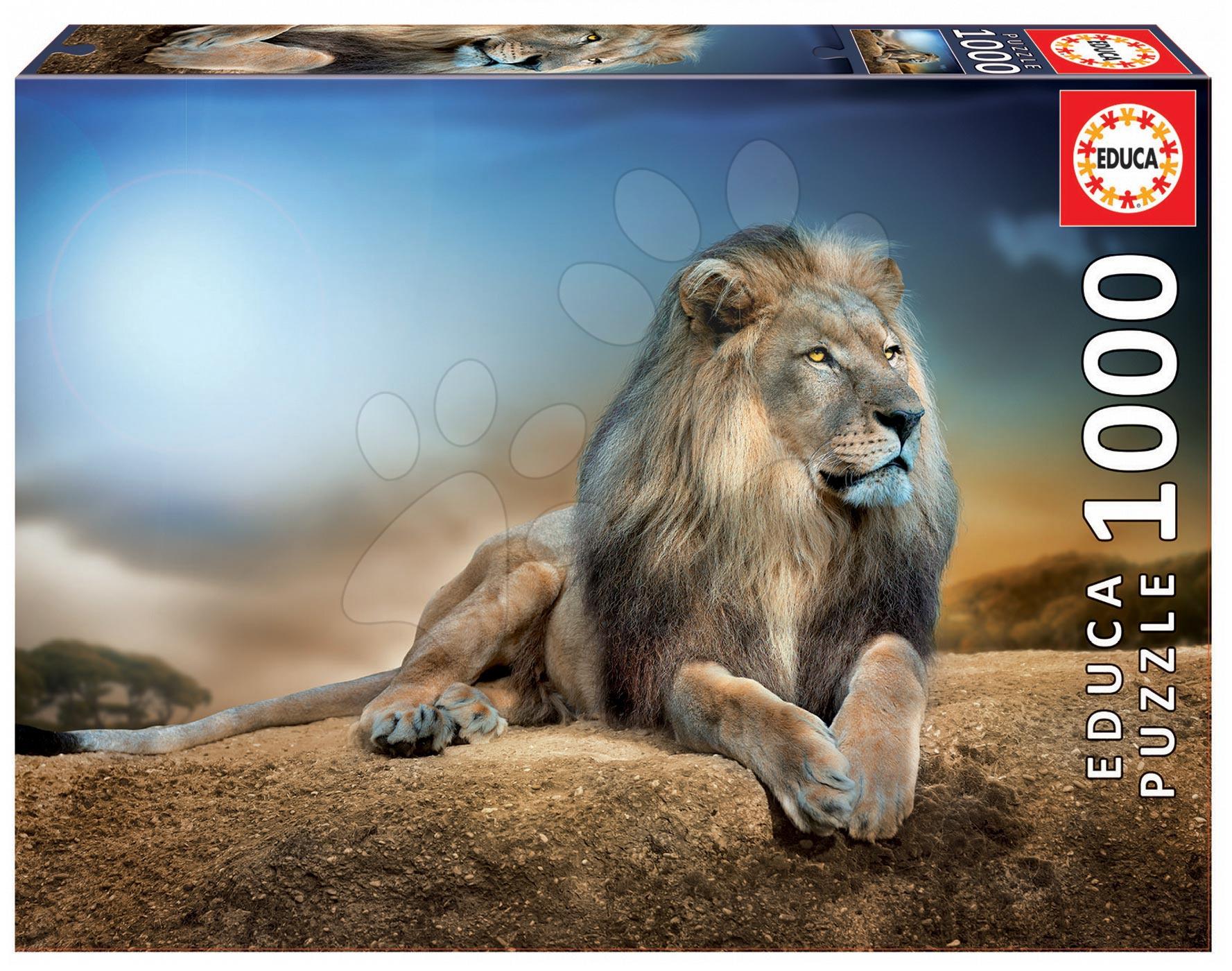 Puzzle 1000 dielne - Puzzle Genuine His Majesty Educa 1000 dielov od 12 rokov