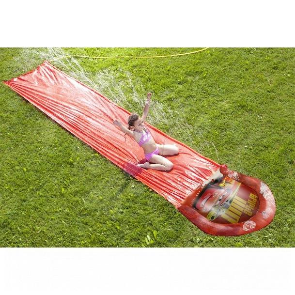 Cars vodní skluzavka s vodotryskem Mondo 510*110 cm