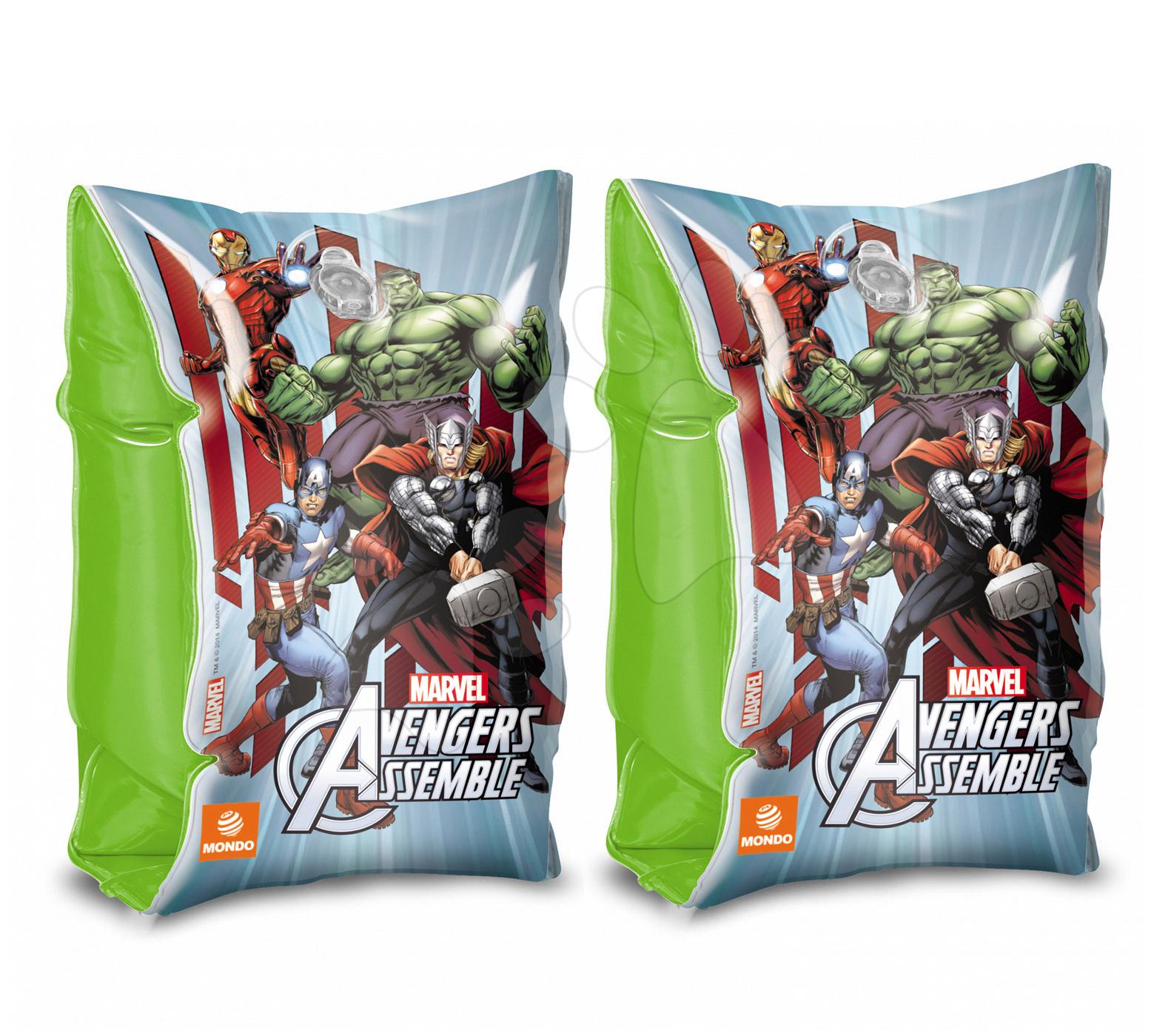 Nafukovacie rukávniky a vesty - Nafukovacie rukávniky na plávanie Avengers Mondo od 3 rokov