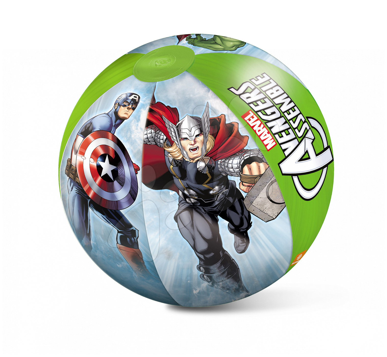 Lopte na napuhavanje - Lopta na napuhavanje Avengers Mondo 50 cm od 10 mjes