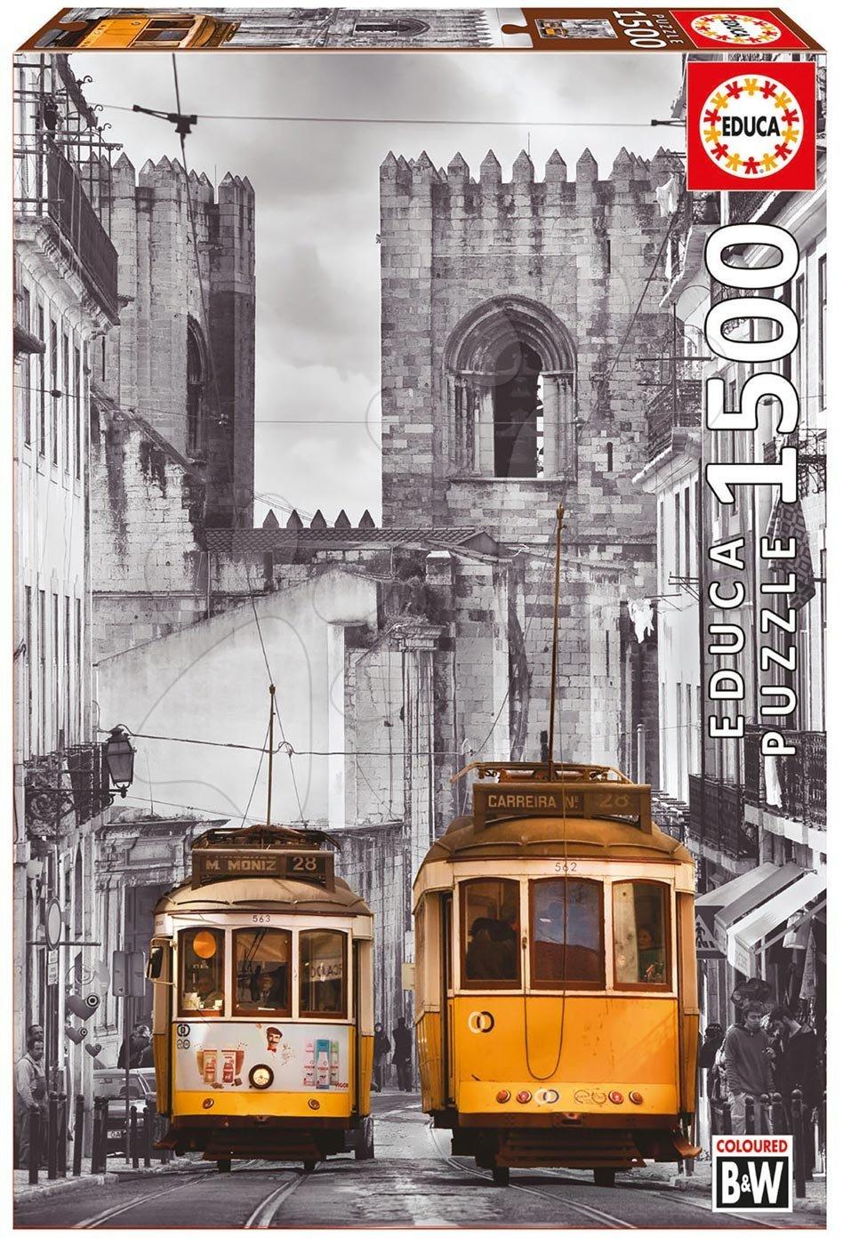 EDUCA 16311 puzzle The Alfama District Lisbon 1500 dielikov