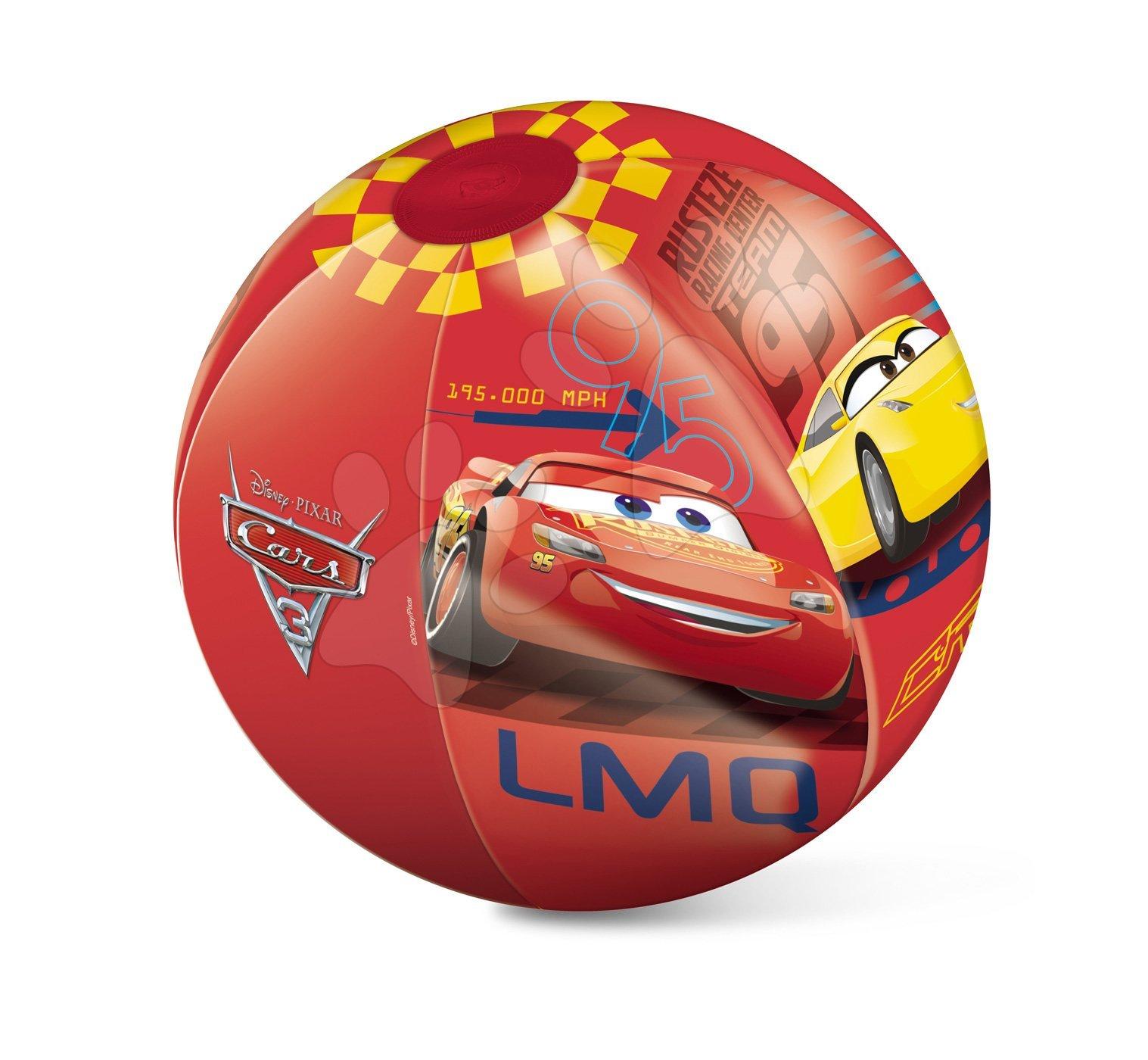 Nafukovacie lopty - Nafukovacia lopta Autá Mondo 50 cm