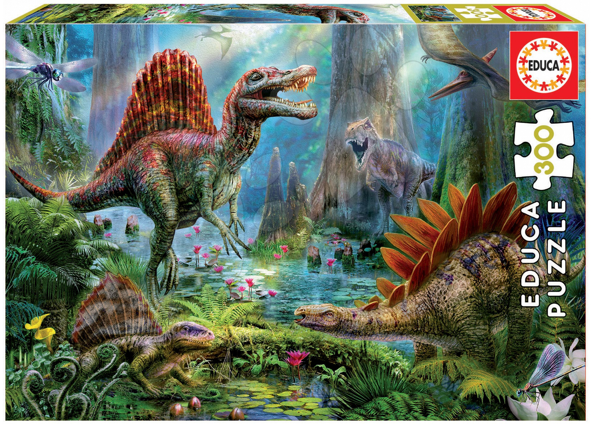 Puzzle Dinosaurus Educa 300 dílů od 8 let
