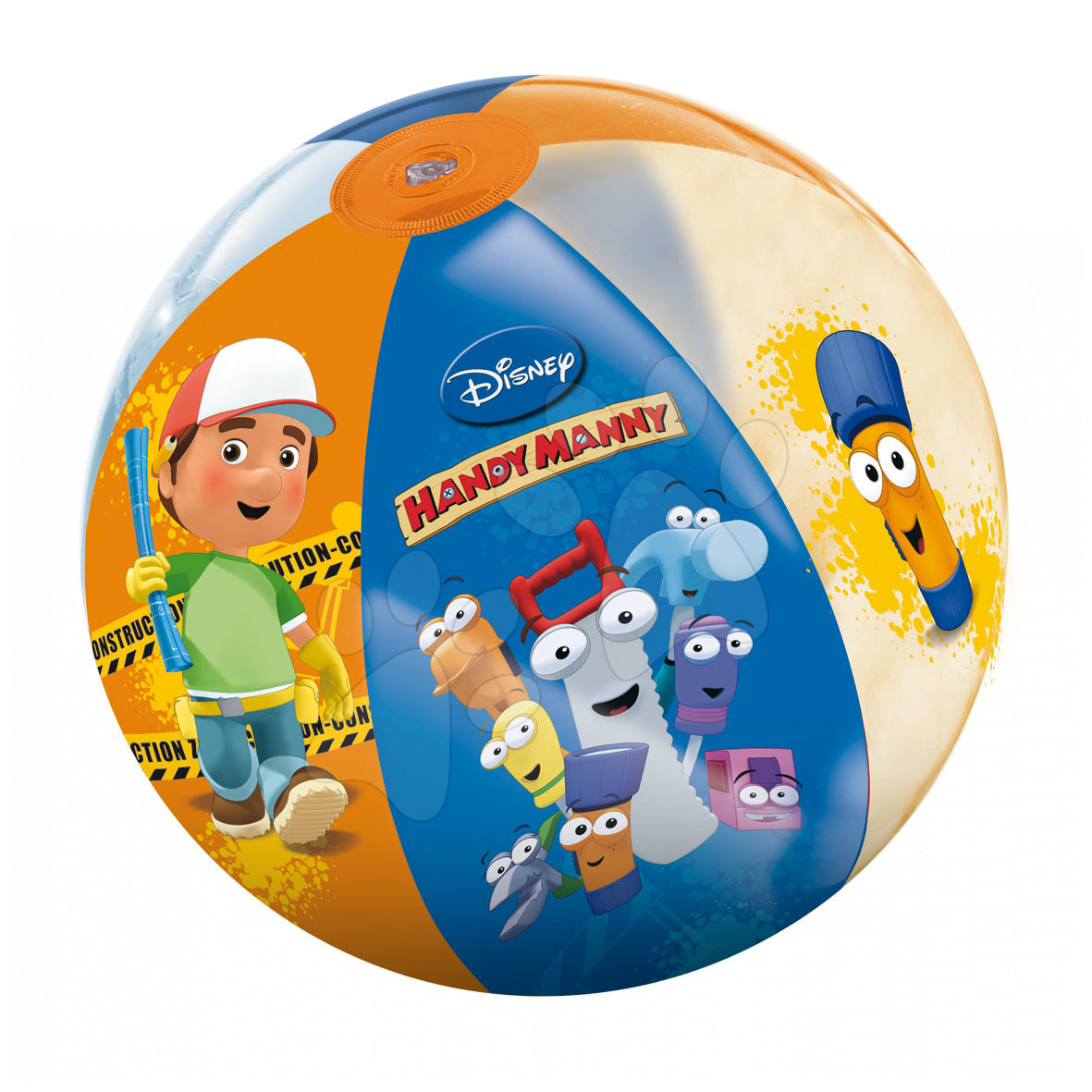 Napihljive žoge za v vodo - Napihljiva žoga Handy Manny Mondo 50 cm