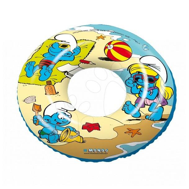 Colac gonflabil înot Smurfs Mondo 50 cm de la 10 luni