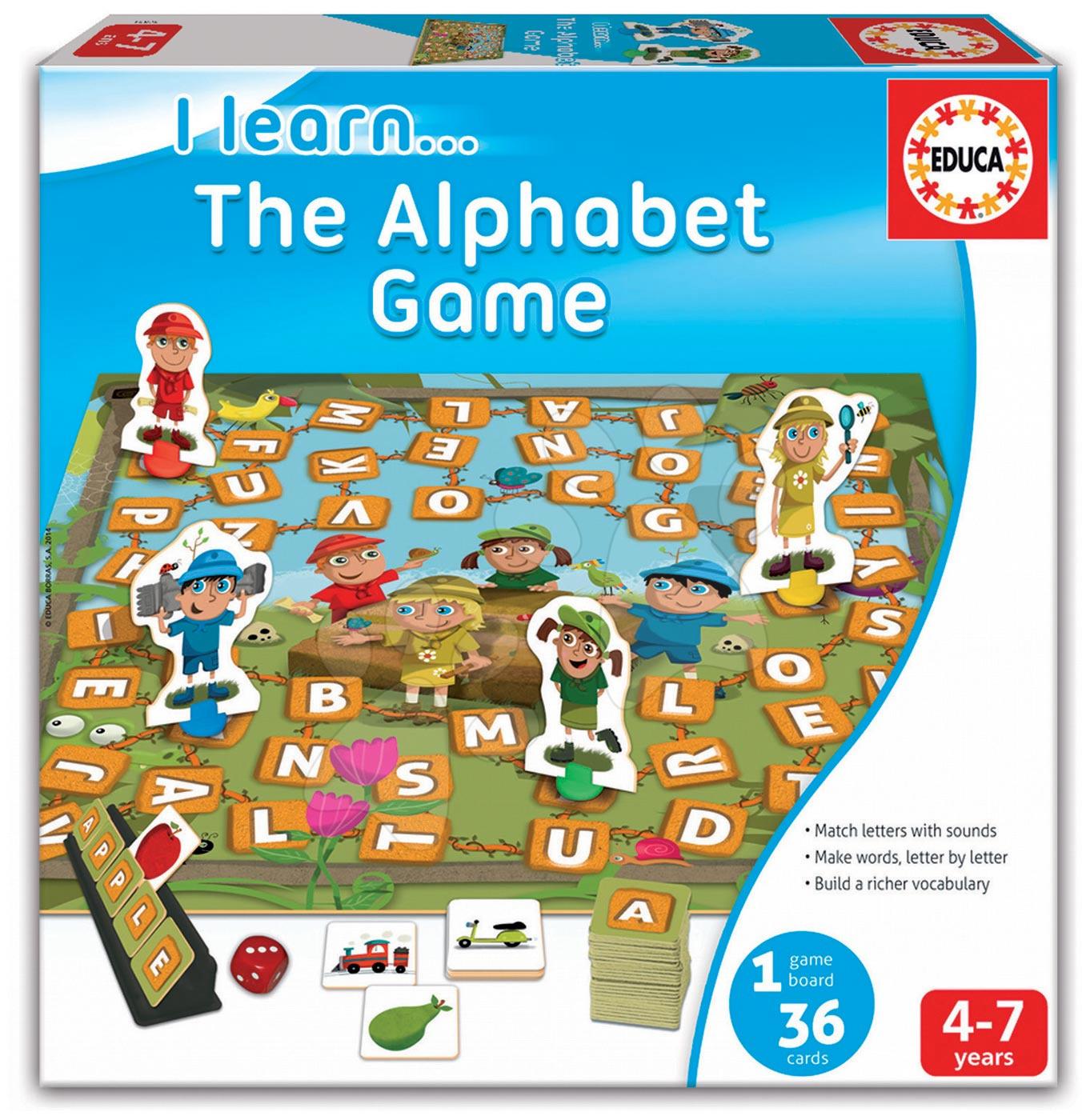 Educa dětská naučná hra se slovíčky v angličtině 16421
