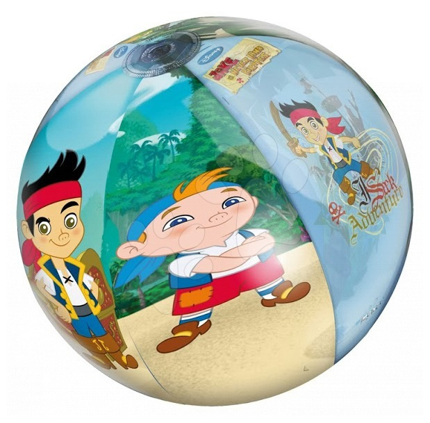 Nafukovacie lopty - Nafukovacia lopta Jake a Piráti z Krajiny Nekrajiny Mondo 50 cm