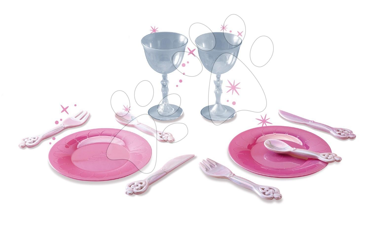 Riadíky a doplnky kuchynky - Čajová súprava Princezná Smoby s 10 doplnkami