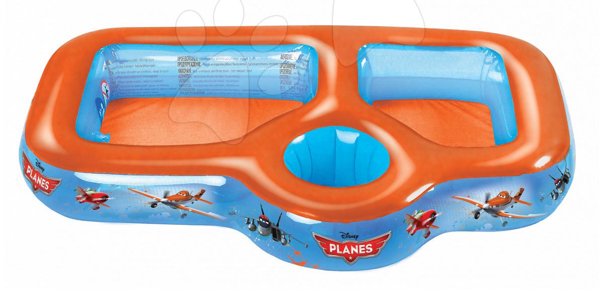 Detské bazéniky - Trojdielny bazén Planes na vodu, piesok a vedierko Mondo od 24 mes