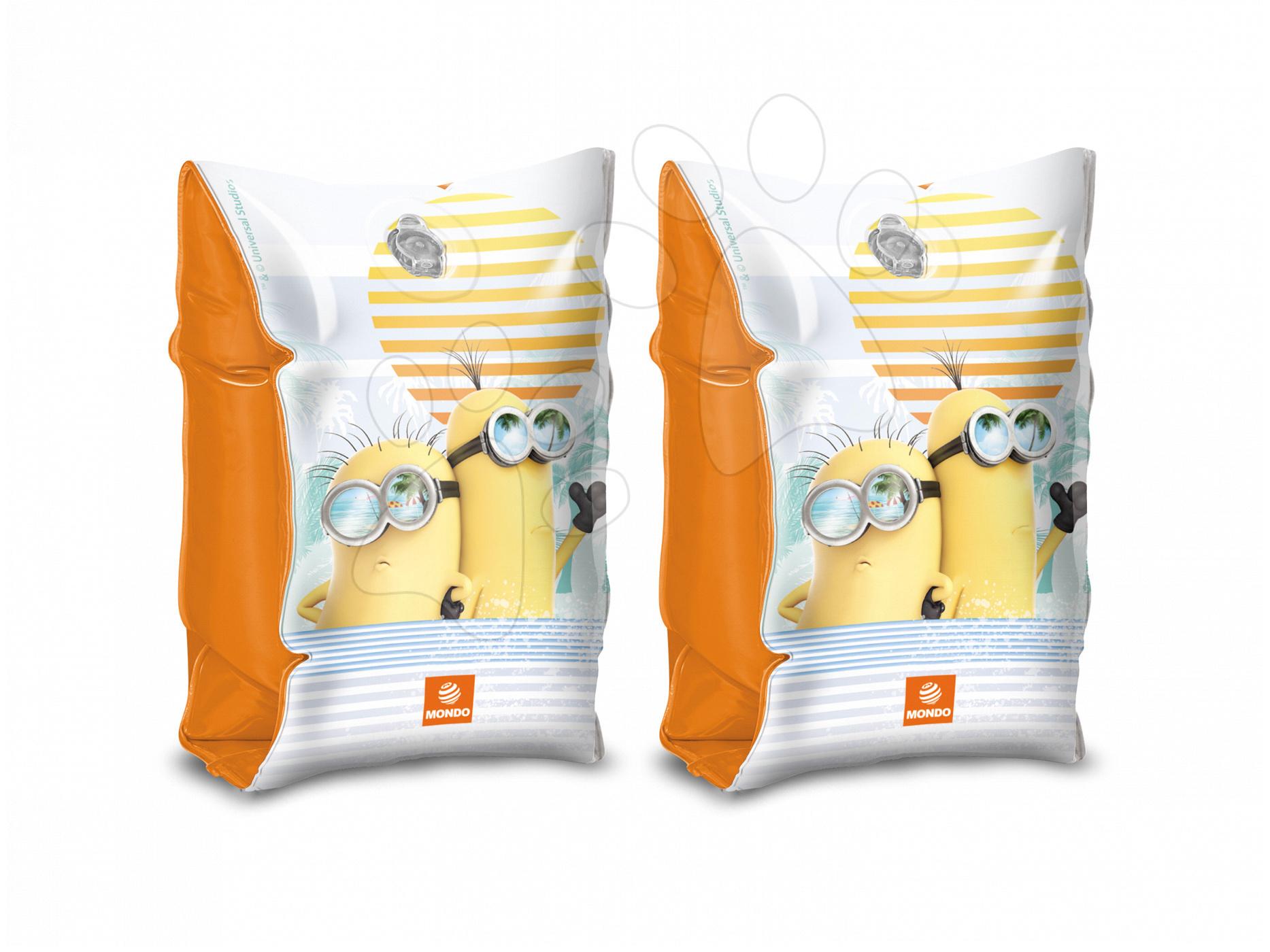 Nafukovací rukávky na plavání Mimoni Mondo s motivem žlutých postaviček od 3 let
