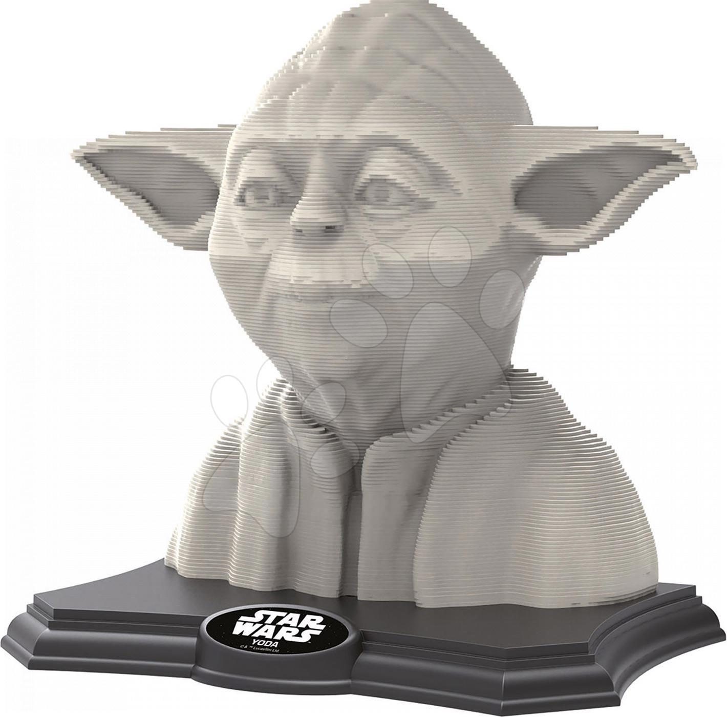Puzzle 3D Sculpture Hvězdné války Yoda Educa 160 dílů od 6 let