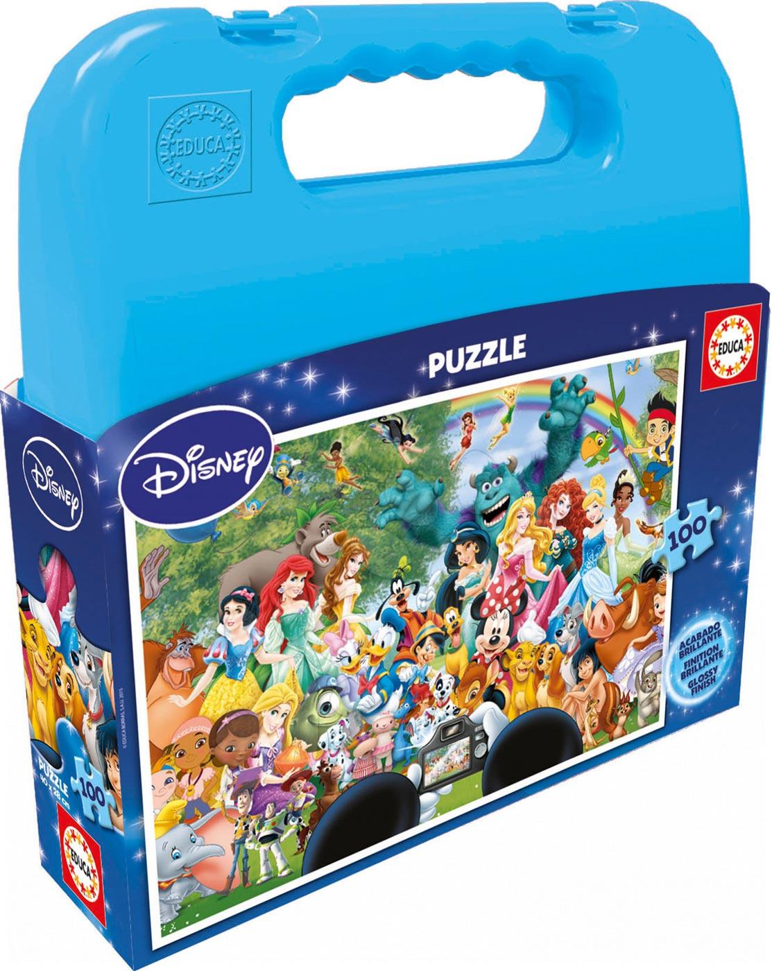 Puzzle Sbírka Disney postaviček Educa 100 dílů od 5 let