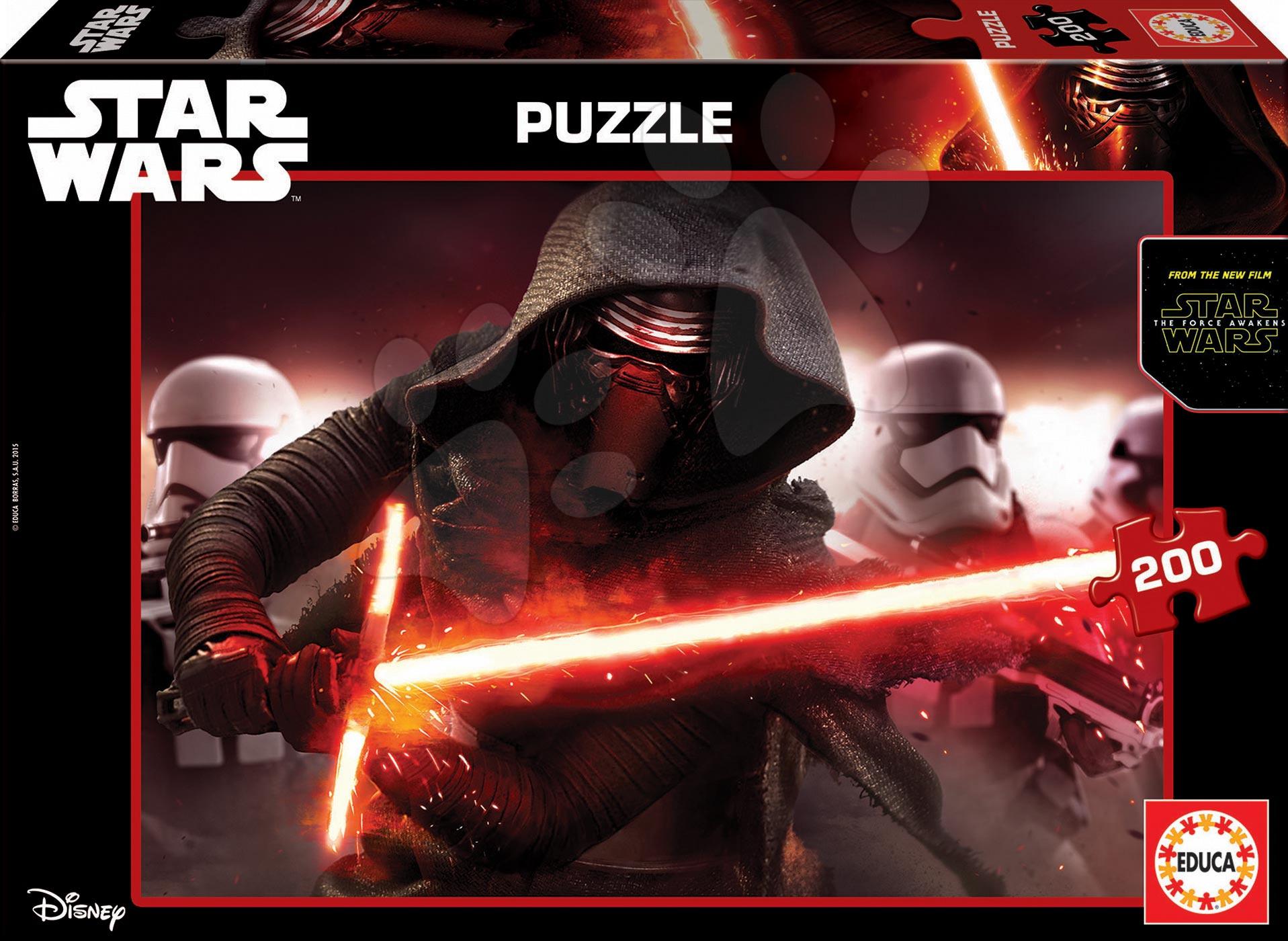 Puzzle Star Wars 7: Síla se probouzí Educa 200 dílů od 6 let
