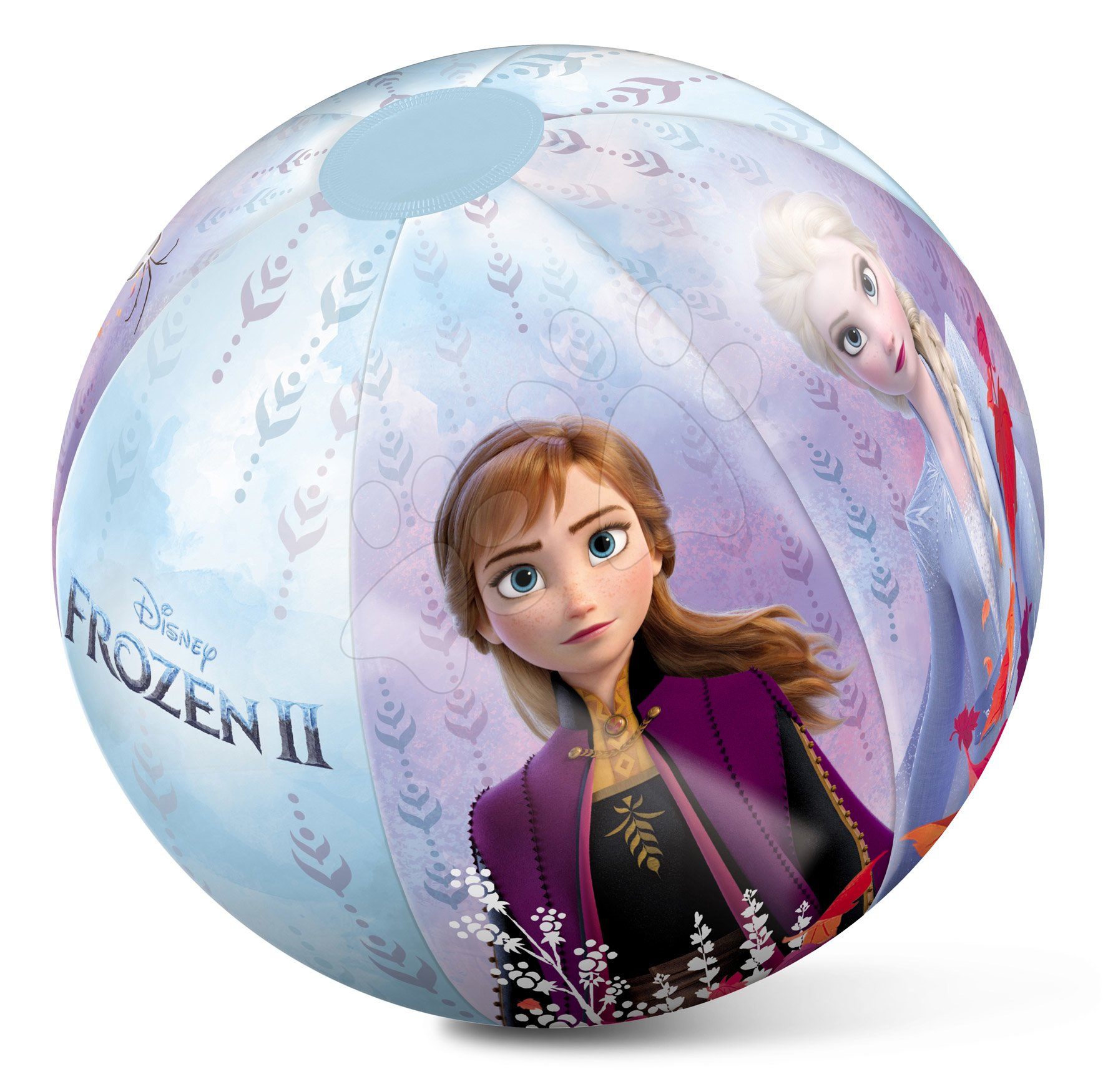 Nafukovacie lopty - Nafukovacia lopta Frozen Mondo 50 cm od 10 mes