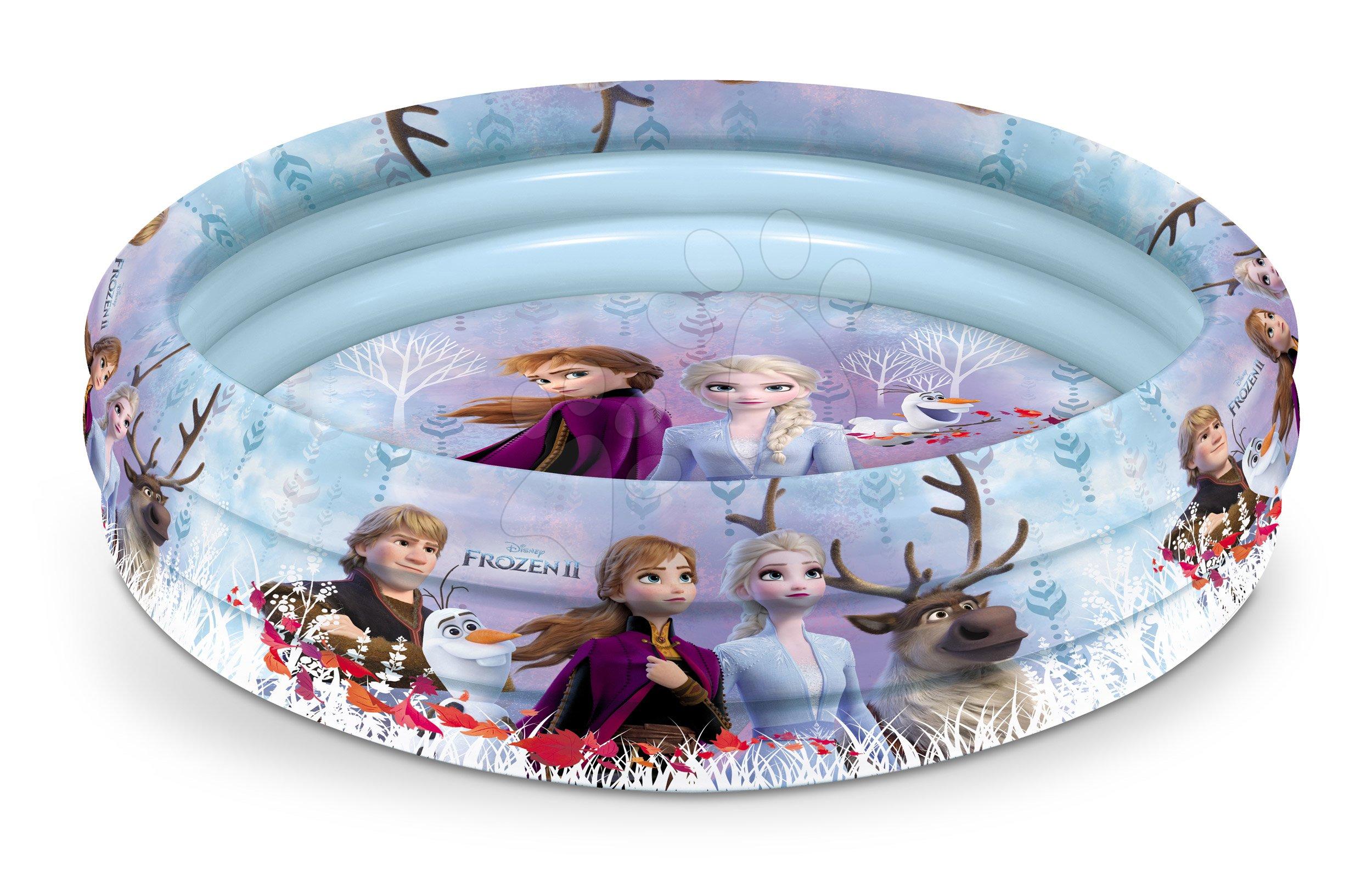 Mondo nafukovací bazén pre deti Frozen 100 cm 16527 modro-ružový