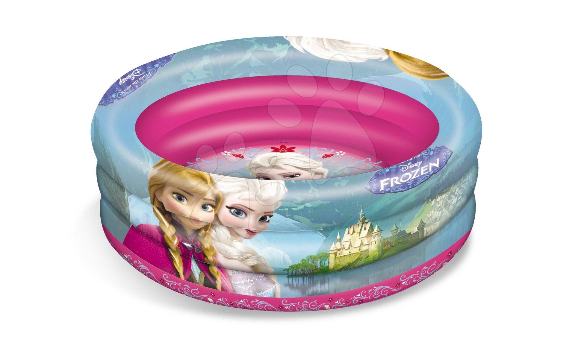 Napihljivi bazen Frozen Mondo s temi obroči 100 cm od 10 mes
