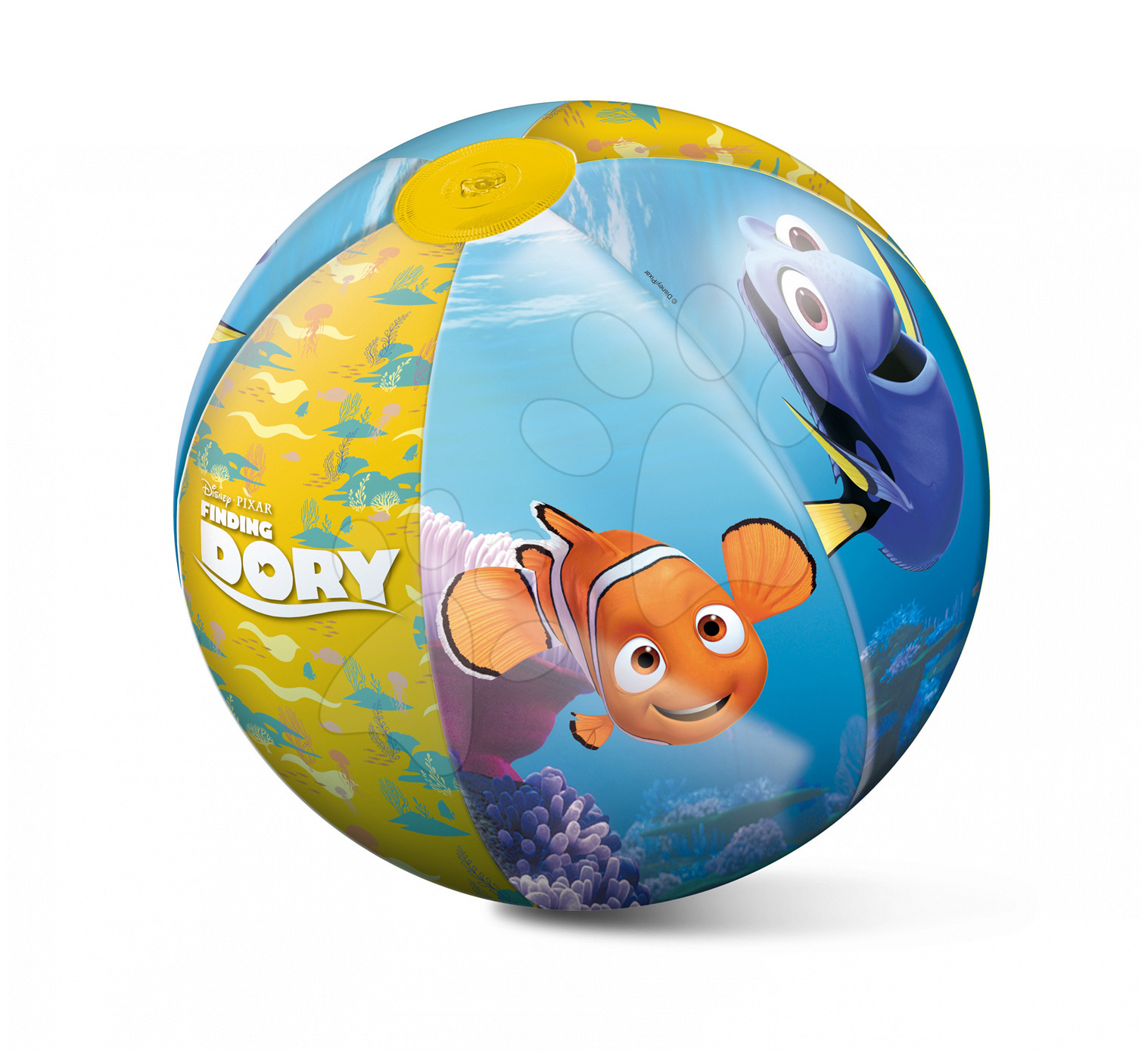 Nafukovacie lopty - Nafukovacia lopta na pláž Hľadá sa Dory Mondo 50 cm od 10 mes