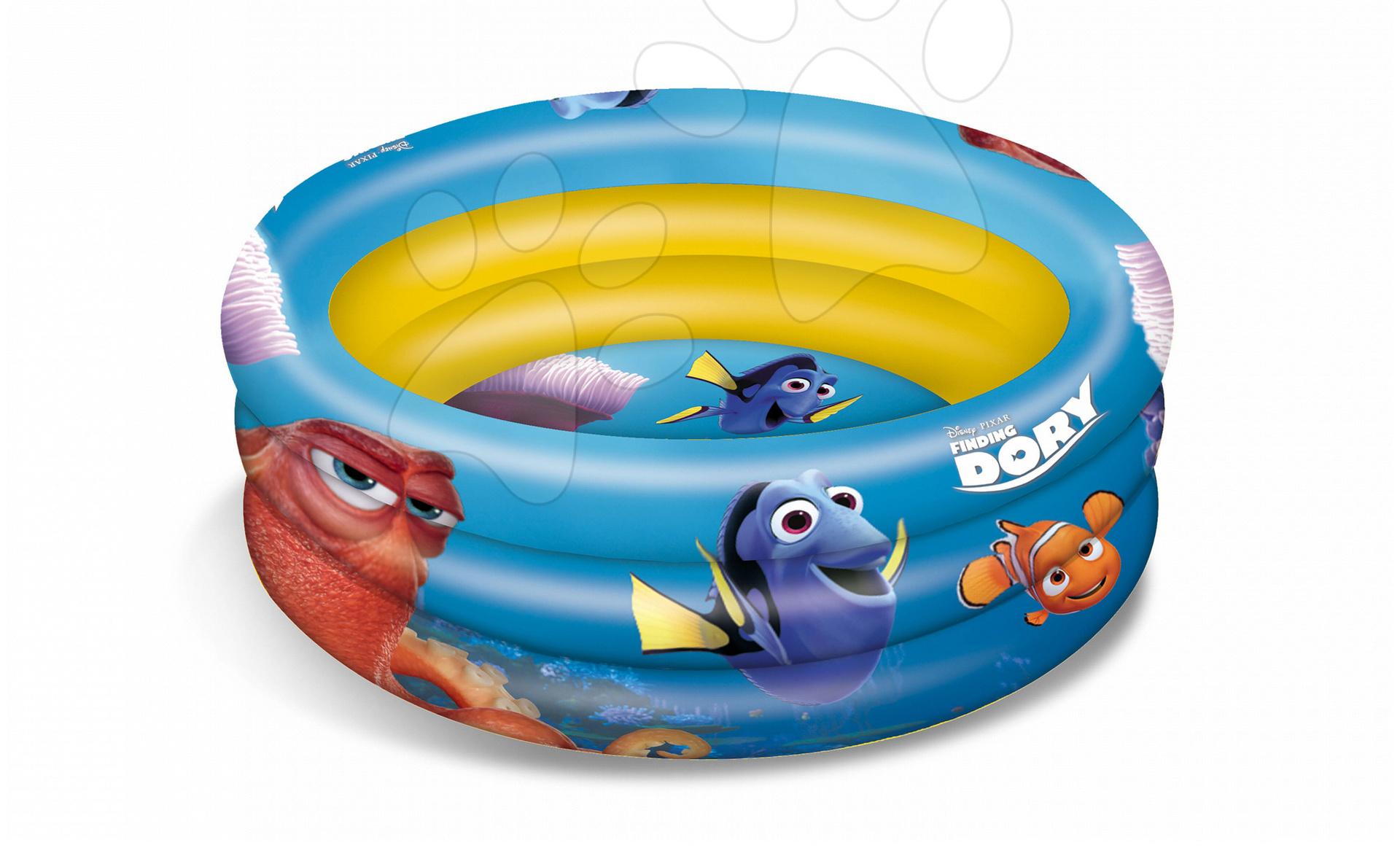 Detské bazéniky - Nafukovací bazén Hľadá sa Dory Mondo trojkomorový 100 cm od 10 mes