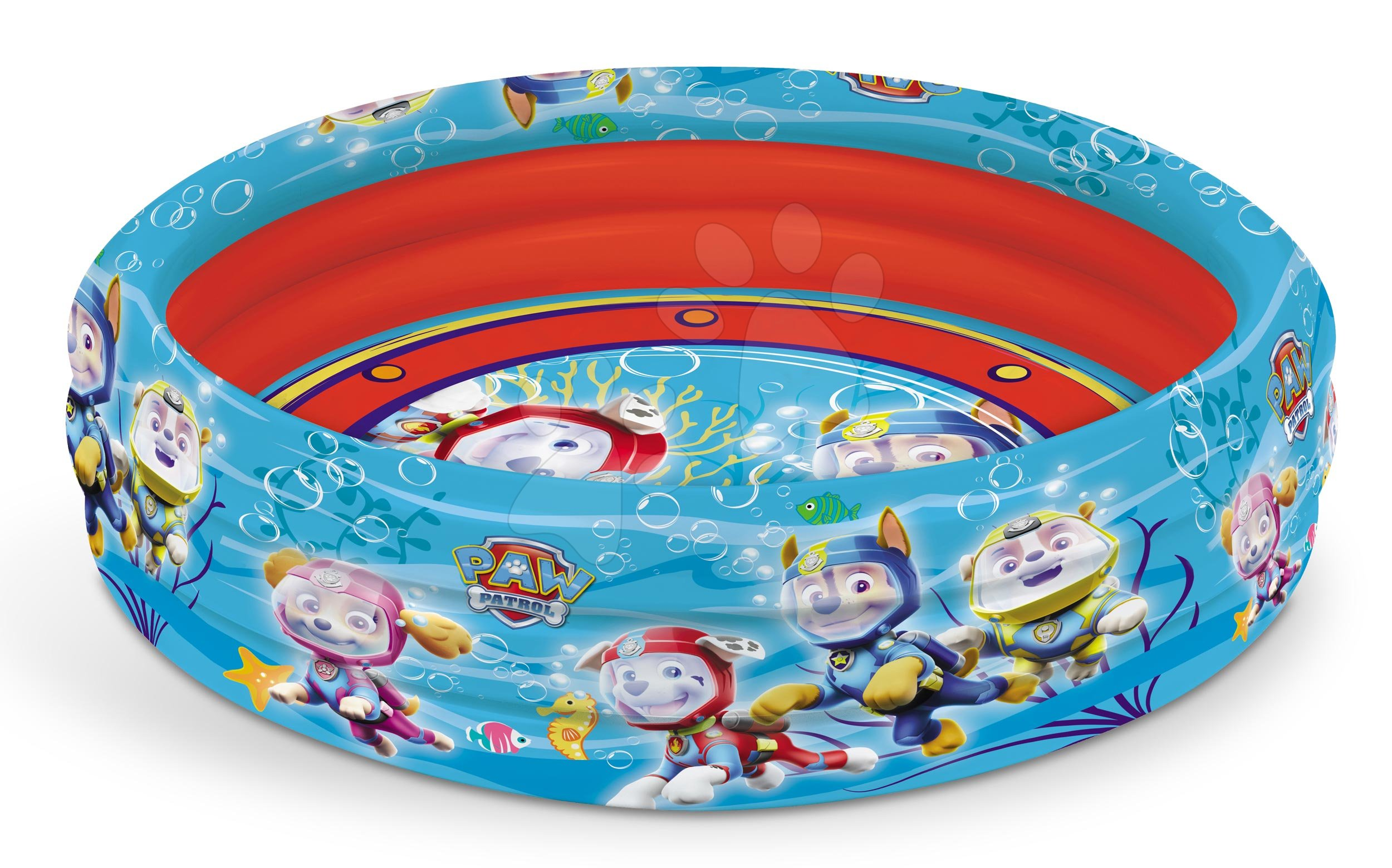 Mondo detský nafukovací bazén Paw Patrol trojkomorový 100 cm priemer 16632