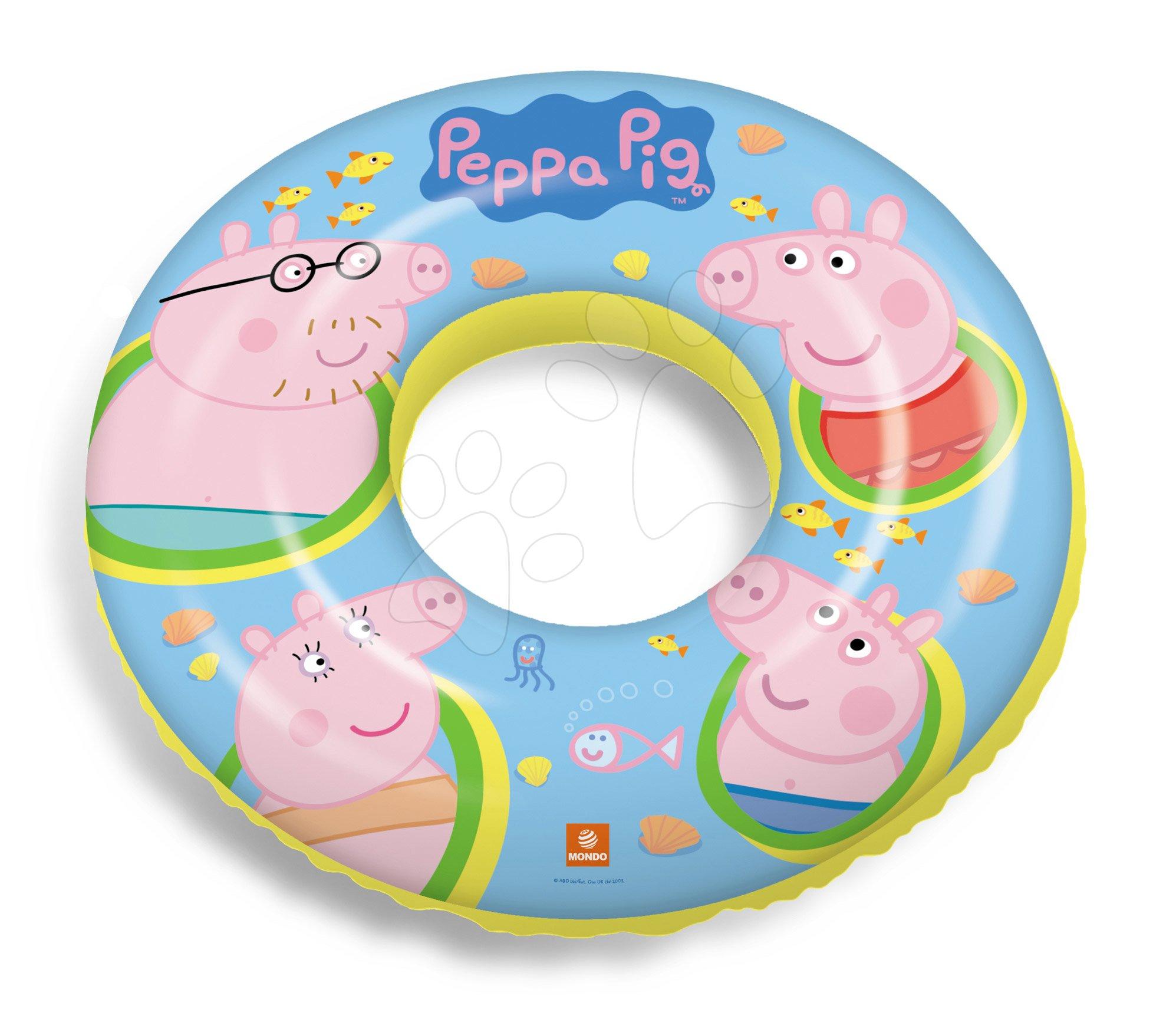 Nafukovací kruh Peppa Pig  Mondo 50 cm od 10 měsíců