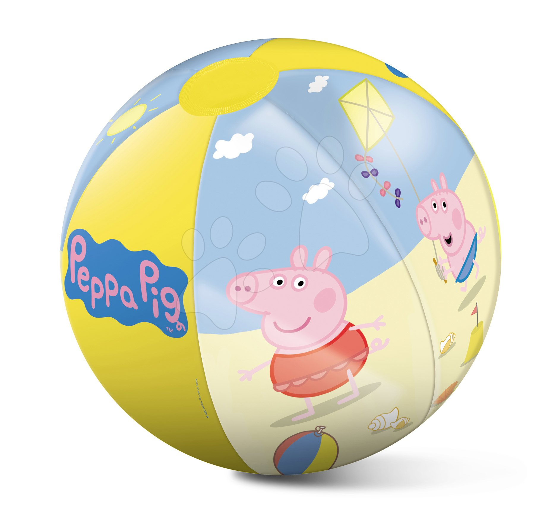 Nafukovací míč na pláž Peppa Pig  Mondo 50 cm od 10 měsíců