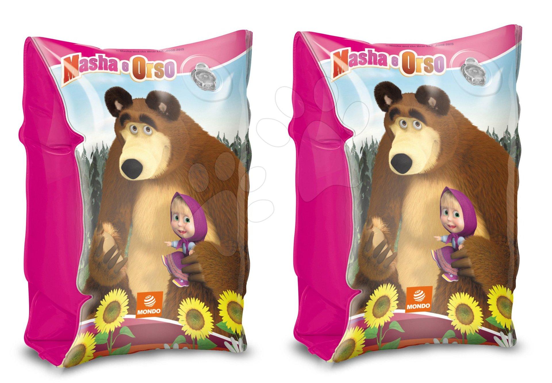 Nafukovací rukávky Máša a Medvěd Mondo od 2 - 6 let