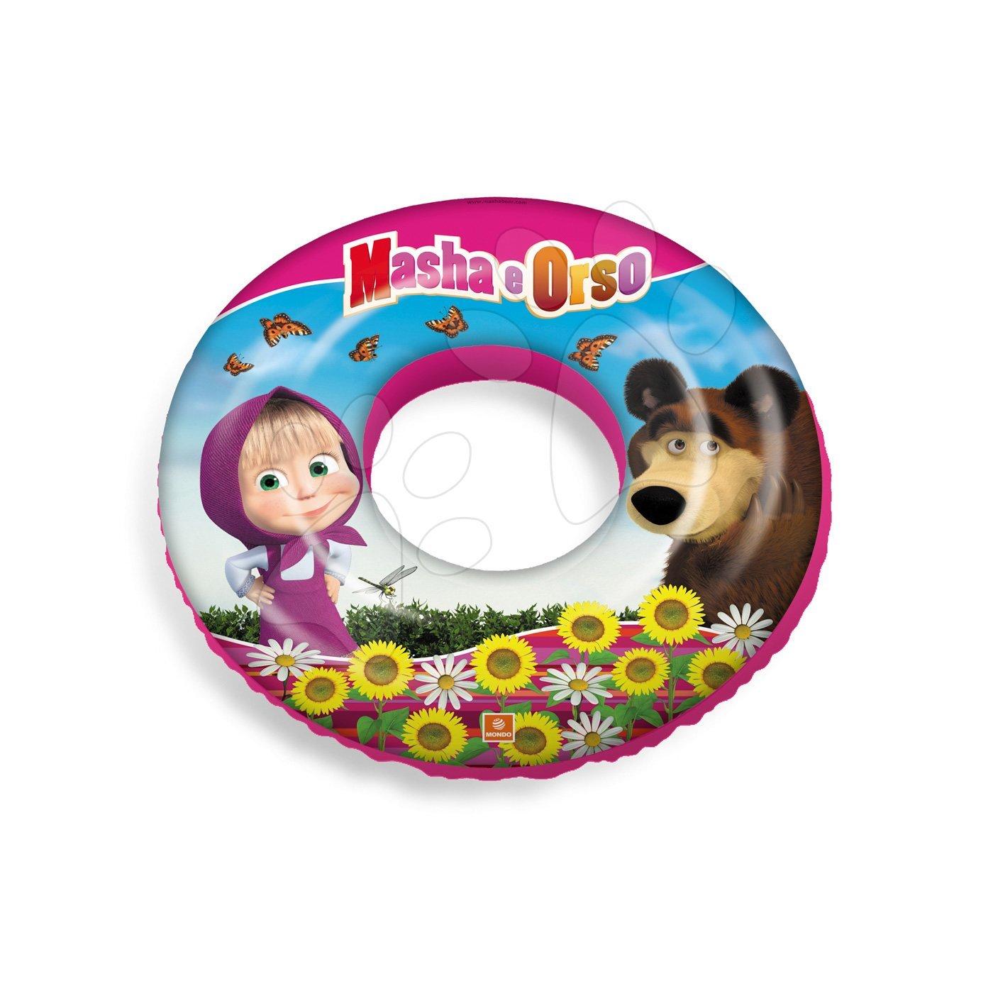 Nafukovací kruh Máša a Medvěd Mondo 50 cm od 12 měsíců