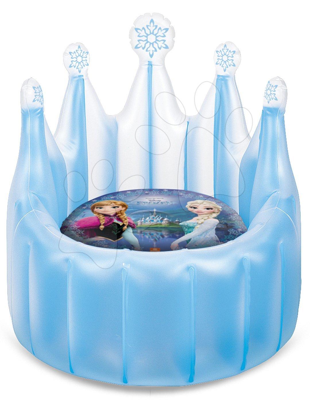 Nafukovačky - Nafukovacie kreslo Frozen Mondo kráľovský trón