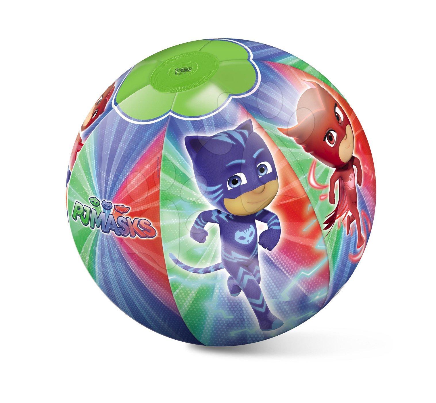 Nafukovací plážový míč PJ Masks Mondo 50 cm od 10 měsíců