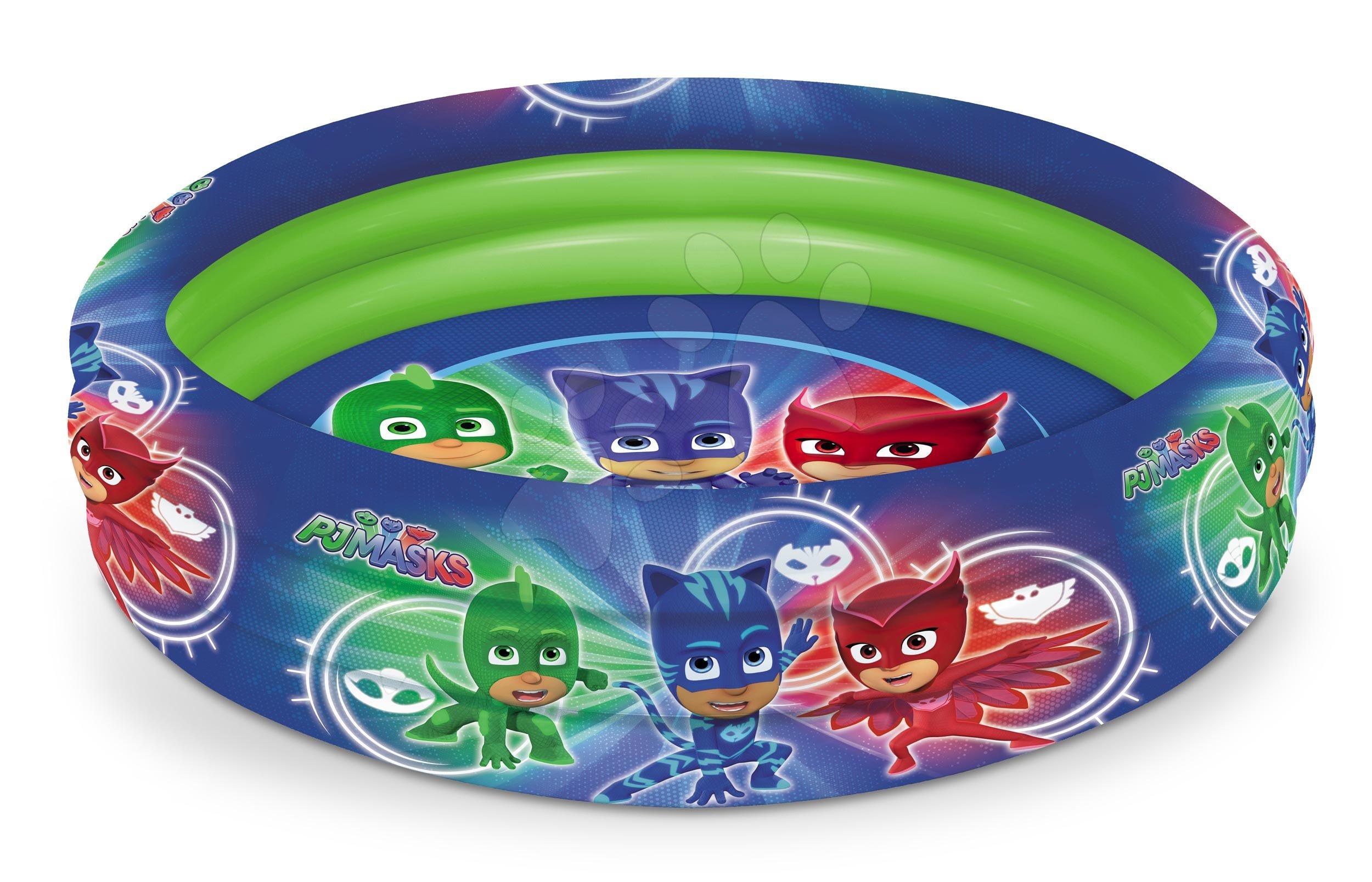 Nafukovací bazén PJ Masks Mondo tříkomorový 100 cm od 10 měsíců