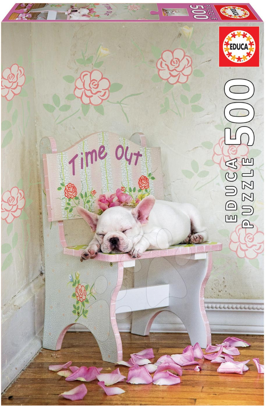 Puzzle 500 dielne - Puzzle Genuine Taking time out, Lisa Jane Educa 500 dielov od 11 rokov