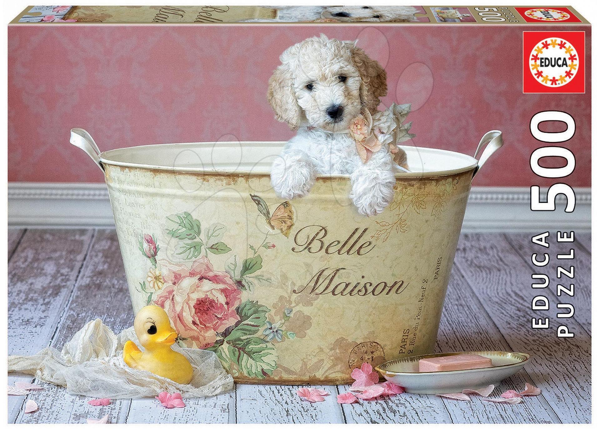 Puzzle 500 dielne - Puzzle Genuine Belle Maison, Lisa Jane Educa 500 dielov od 11 rokov