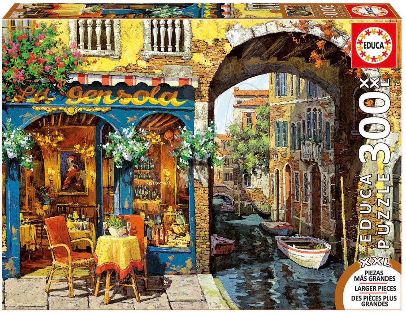 Puzzle 500 dielne - Puzzle Genuine XXL La Gensola, Viktor Shvaiko Educa 300 dielov od 12 rokov