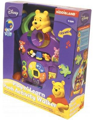 Activity Pooh walker Kiddieland elektrické