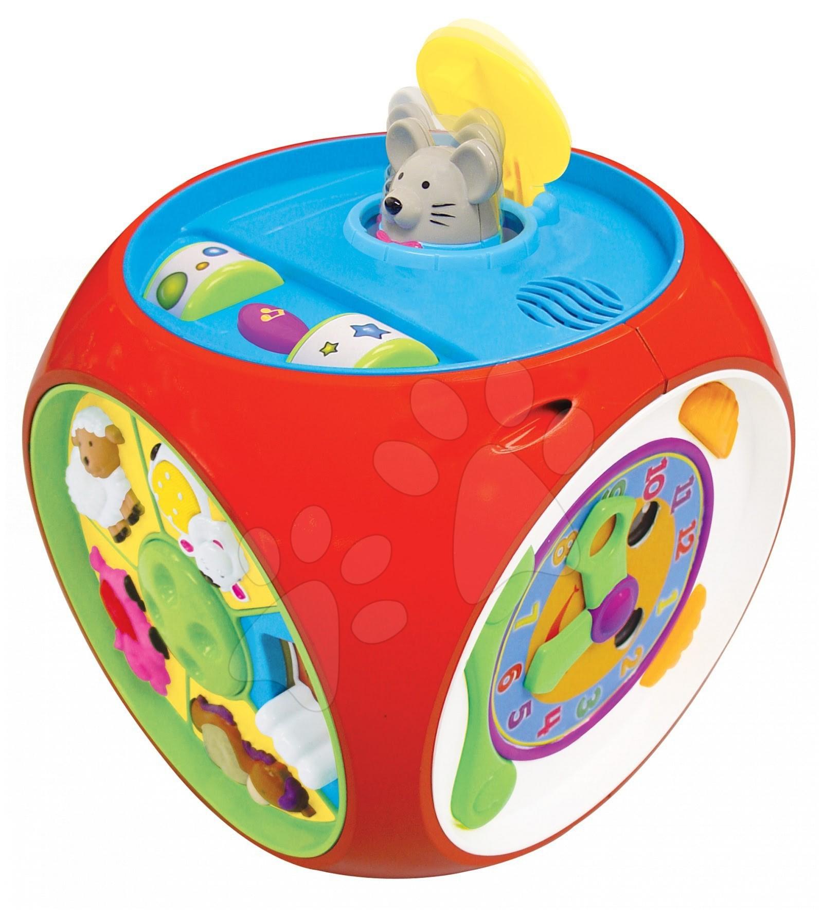 Didaktická kostka Activity Busy Box Learn'n'Play Kiddieland se zvukem a světlem od 12 měsíců