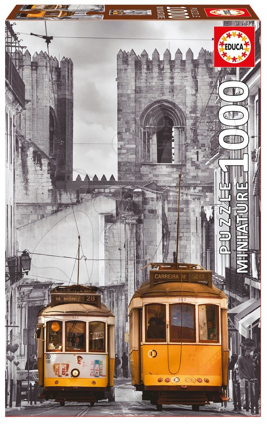 Puzzle Miniature series, The Alfama district, Lisabon Educa 1000 dílů od 12 let