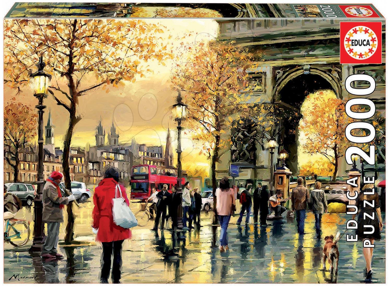 Puzzle 2000 dielne - Puzzle Genuine Arc de Triomphe Educa 2000 dielov