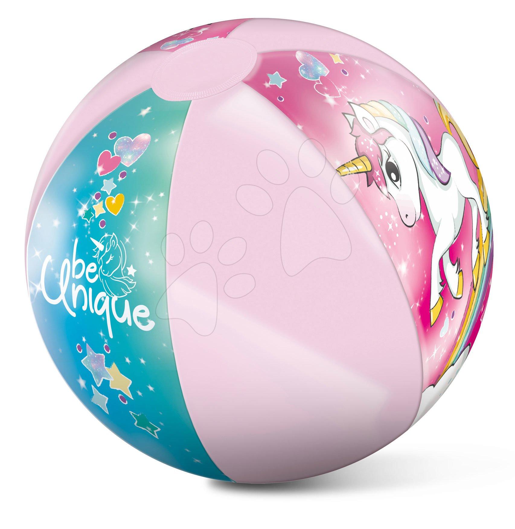 Nafukovací míč Jednorožec Beach Ball Mondo 50 cm od 24 měsíců