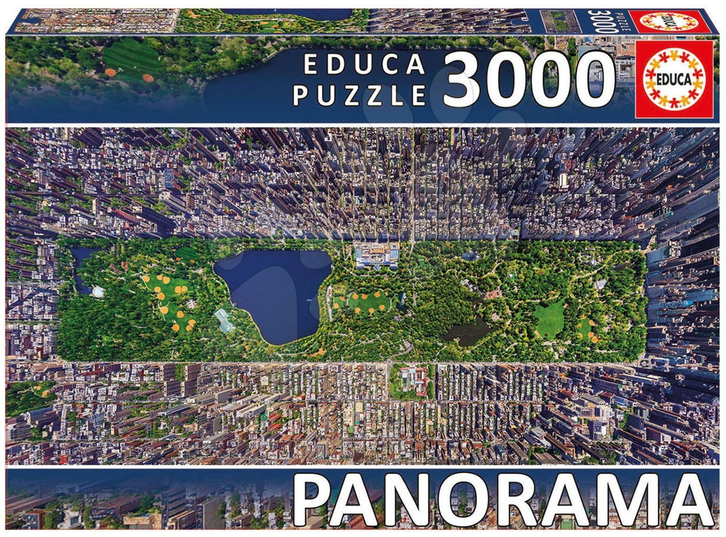 Puzzle Panorama Central Park, New York Educa 3000 dílů od 15 let