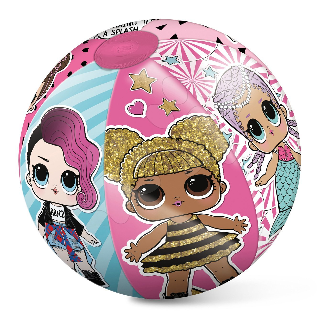 Nafukovací plážový míč LOL Suprise Mondo 50 cm od 10 měsíců