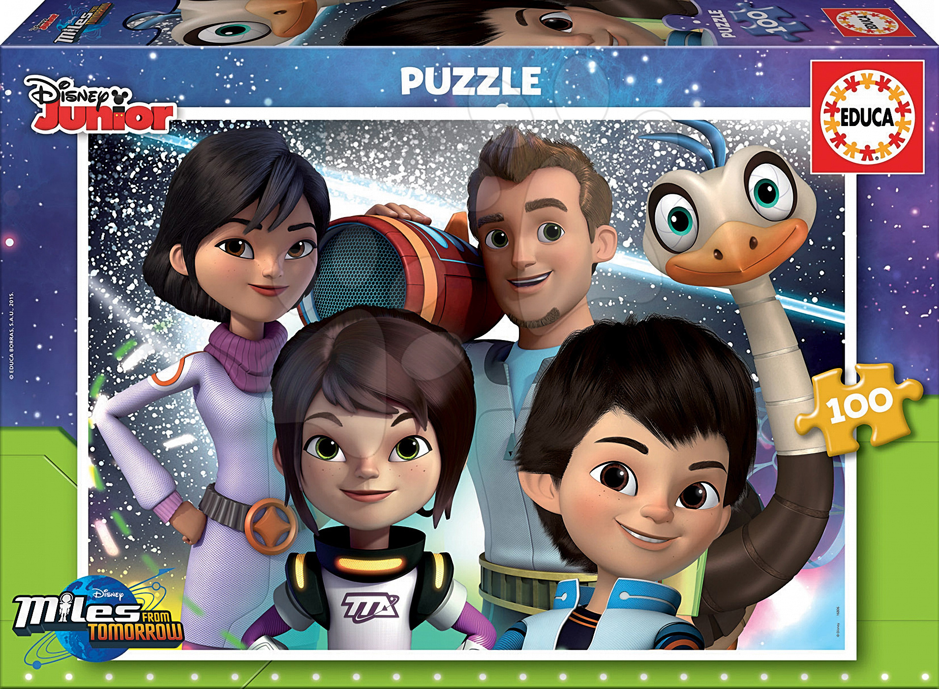 Puzzle Miles from Tomorrow Educa 100 dílů od 5 let