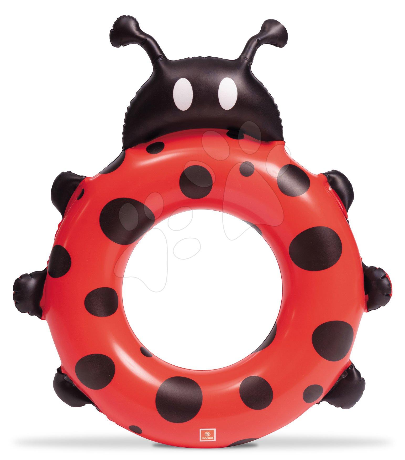 Nafukovací plovací kruh Lady Bug Beach Ball Mondo 50 cm od 24 měsíců