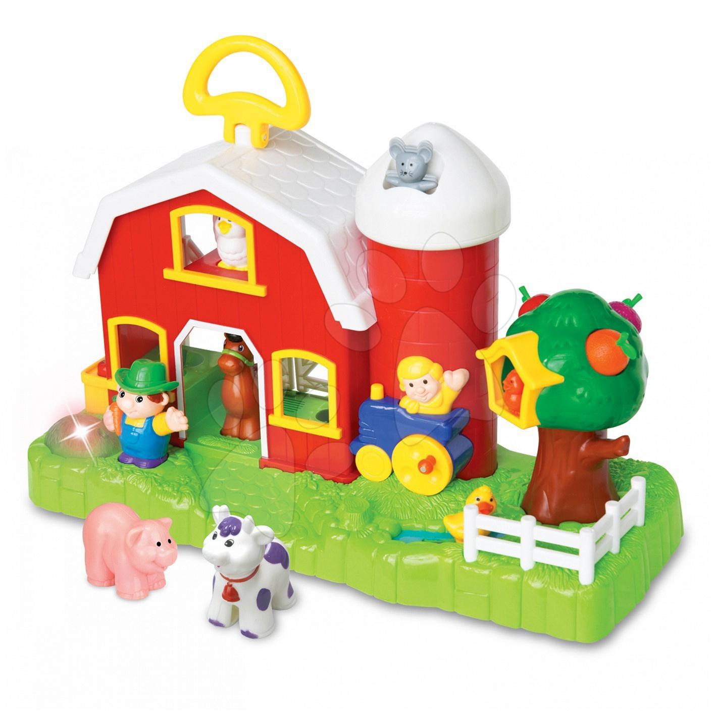 Staré položky - Farma so zvieratkami Activity Kiddieland elektronická od 12 mes
