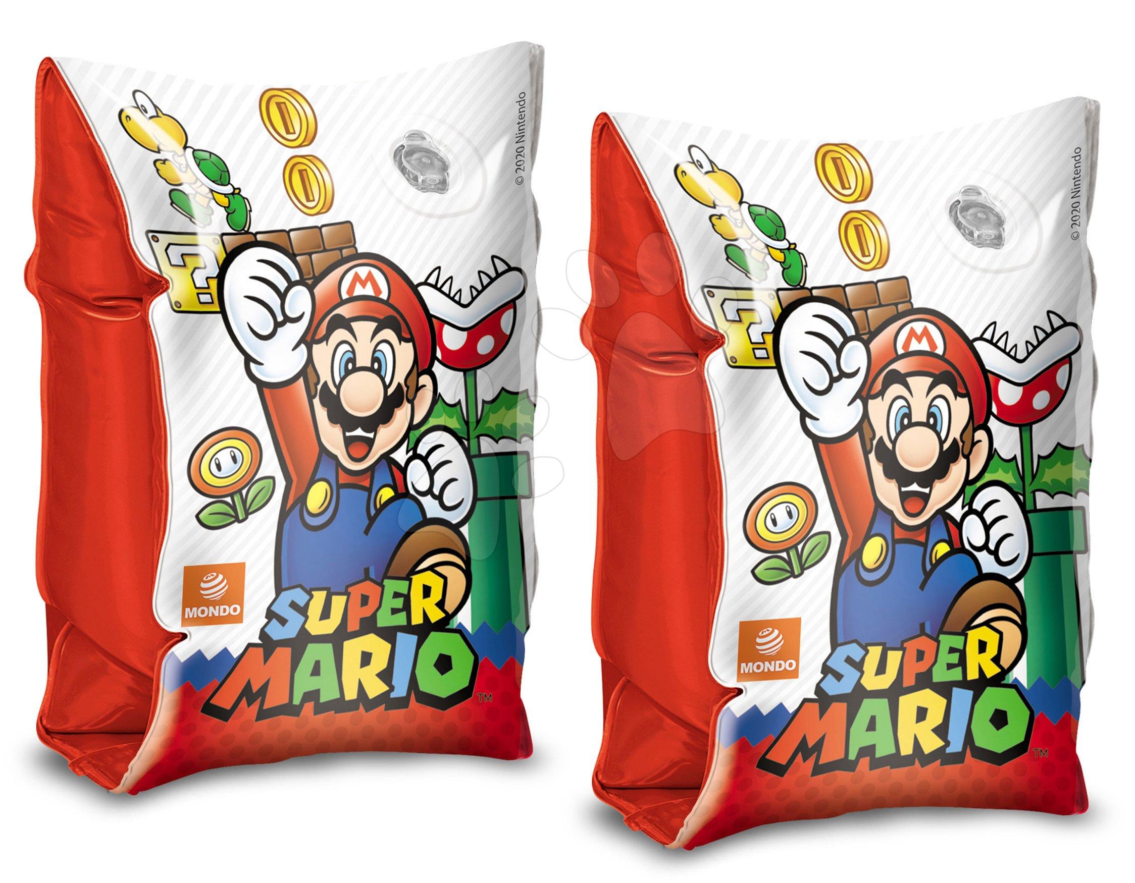 Rukávky nafukovací Super Mario Mondo od 2–6 let