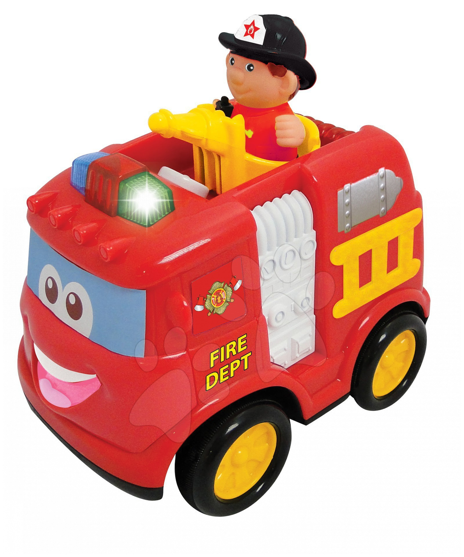 Staré položky - Activity RC hasičské auto Kiddieland