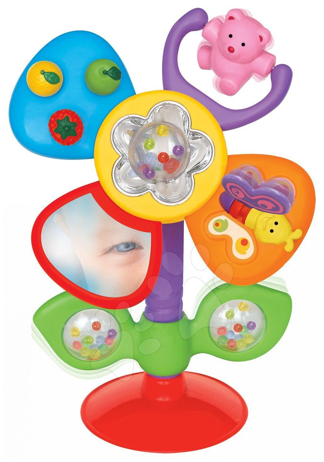 Hračky zvukové - Zábavný kvítek Activity Flower Kiddieland #VALUE! od 6 měsíců