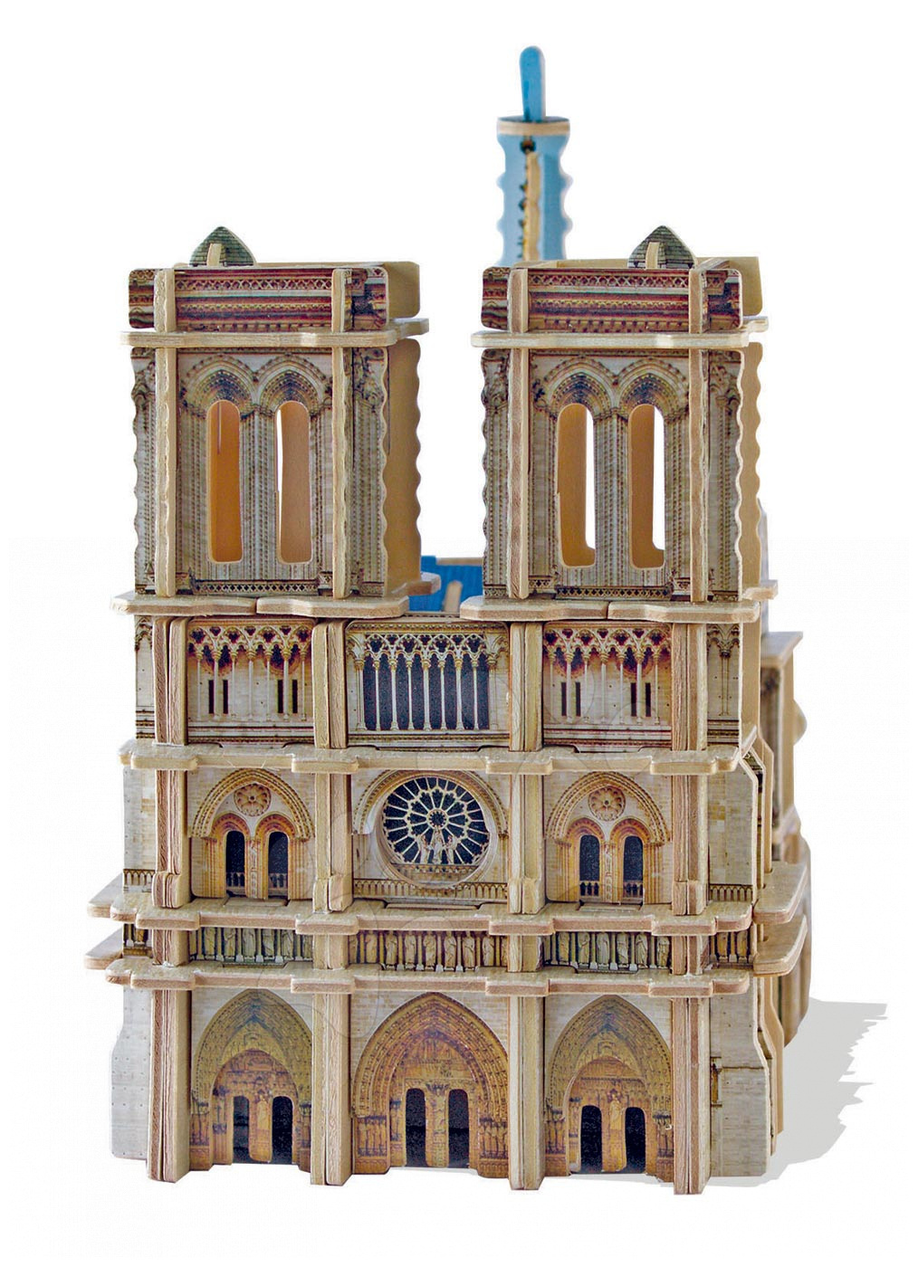 Fa puzzle 3D Monument Notre Dame Educa 148 db 6 évtől