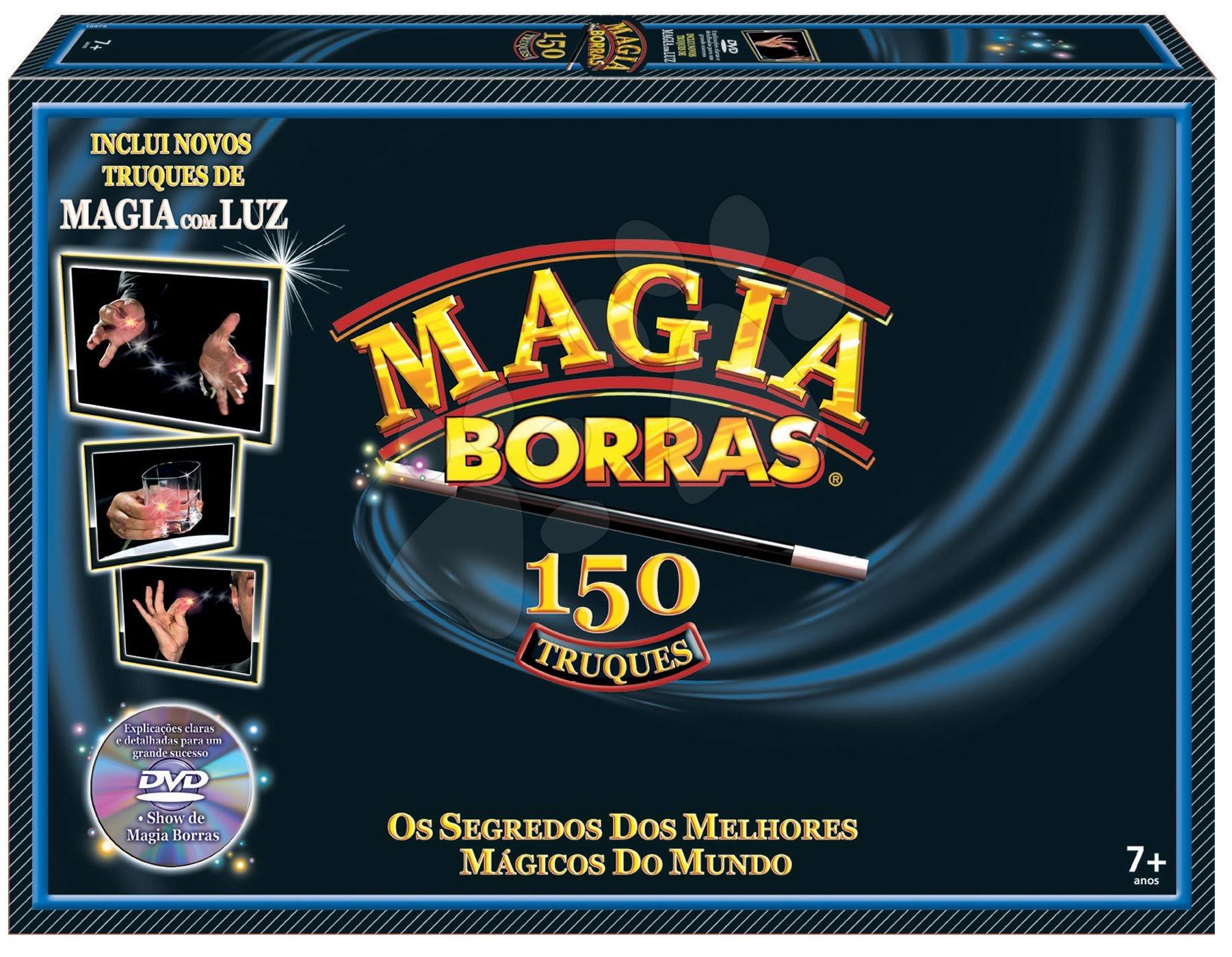 Bűvészmutatványok és trükkök Magia Borras Educa 150 játék spanyol és katalán nyelven 7 évtől