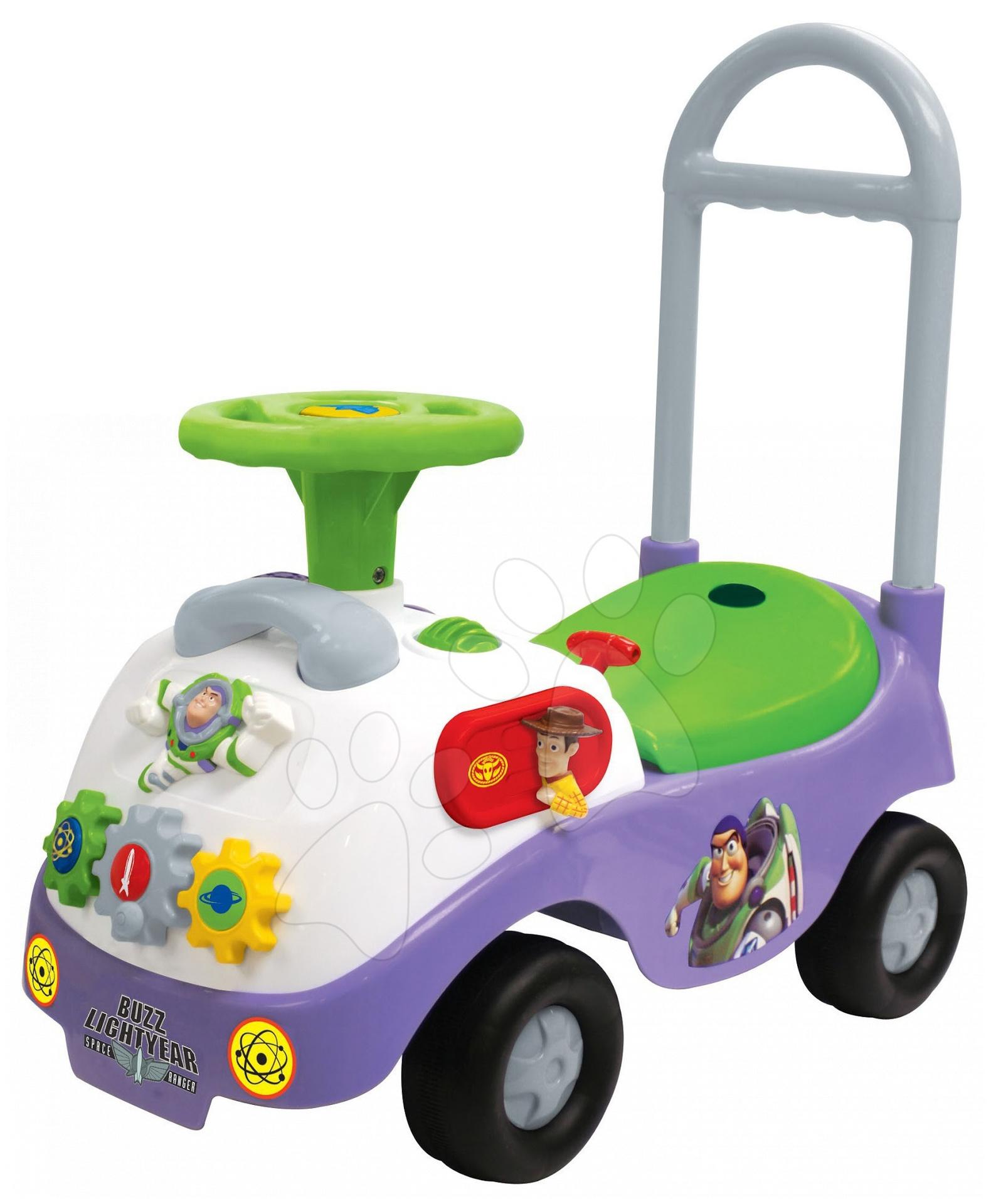 Babytaxiu electronic Toy Story Kiddieland cu lumină și sunet de la 12 luni